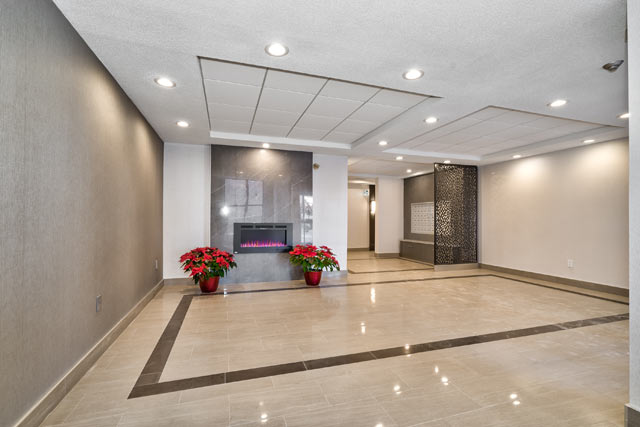 Lobby at 102 Bronte Road.