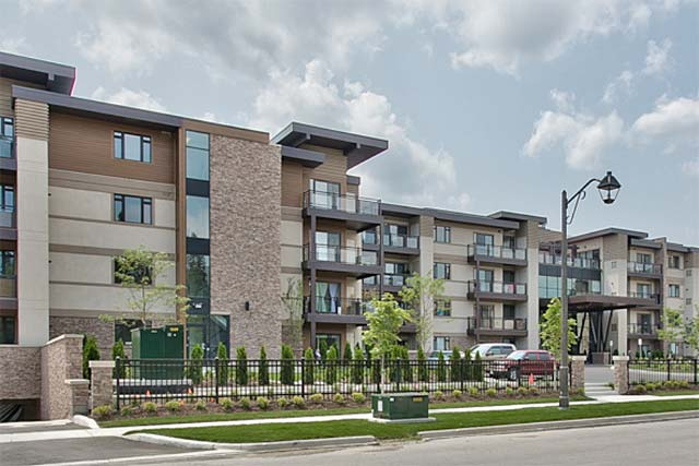 128 Garden Drive, Oakville - Wyndham Place condominiums in downtown Oakville area.