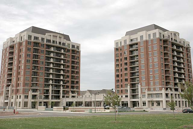 2379-2391 Central Park Drive, Oakville - The Courtyard condominiums in Oak Park.