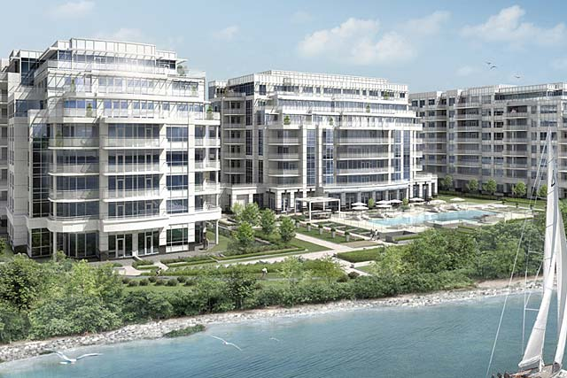 3500 Lakeshore Road West, Oakville - BluWater Condos In Bronte.