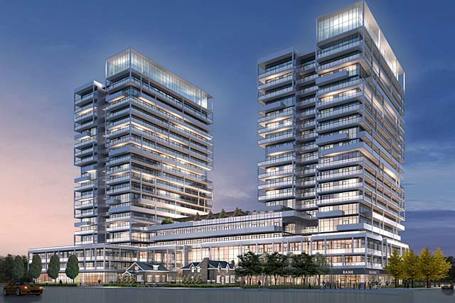 521 Kerr Street, Oakville - Rain and Senses condominiums built by Empire Communities.